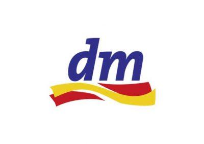 dm-drogerie markt Logo - phaydon Kunden