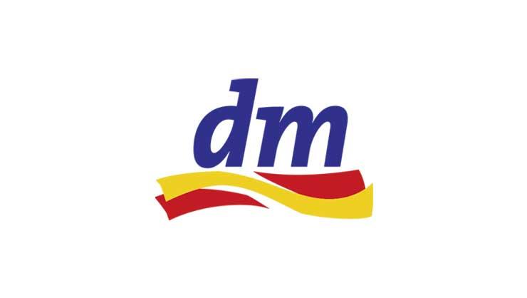 dm Drogeriemarkt Logo – phaydon Kunden