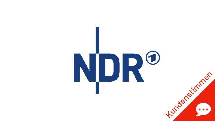 Norddeutscher Rundfunk (NDR) Logo – phaydon Kunden