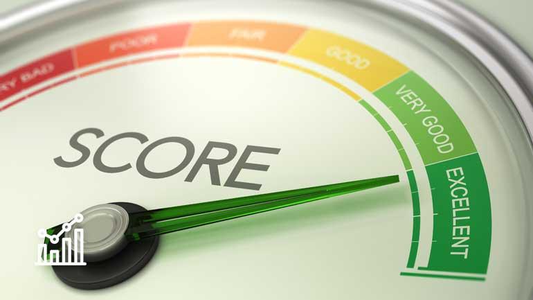 Score/Skala von sehr gut bis schlecht (Symbolfoto phaydon Marktforschung Lösungen)