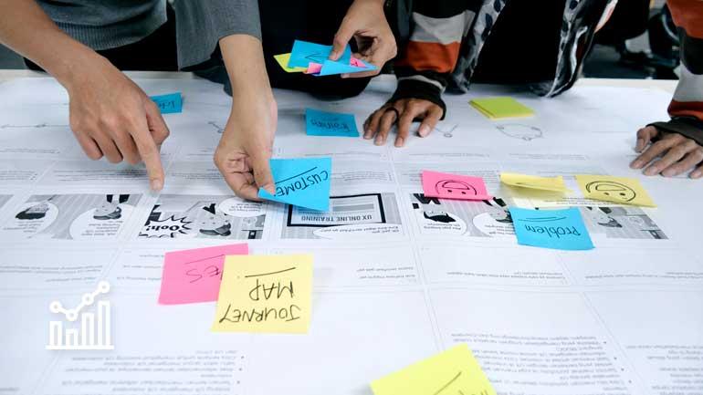 UX Team im User Centered Design Prozess (Symbolfoto phaydon Marktforschung Lösungen)
